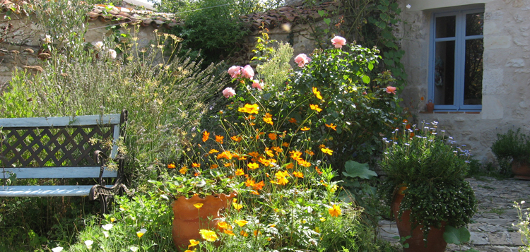 Jardin au naturel ©V. Gauduchon