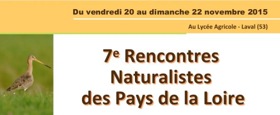 Rencontres naturalistes regionales