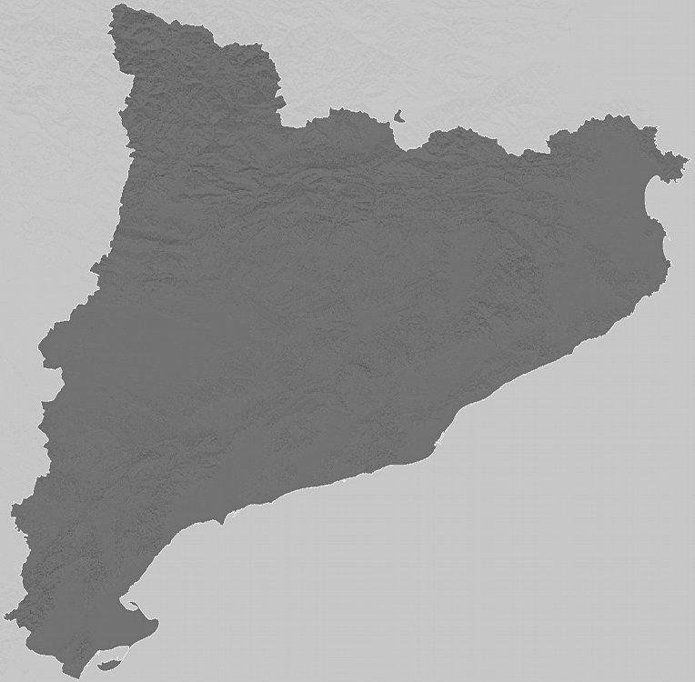 Carte du relief