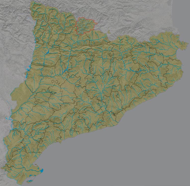 Mapa de relleu amb colors