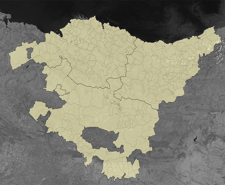 Probintzien mapa